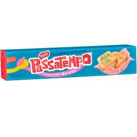 Biscoito Passatempo Recheado Morango 130g