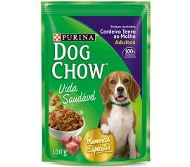Alimento para Cães Dog Chow Adulto Cordeiro Tenro ao Molho 100g