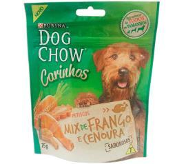 Petiscos Dog Chow Carinho Mix Frango e Cenoura 75g