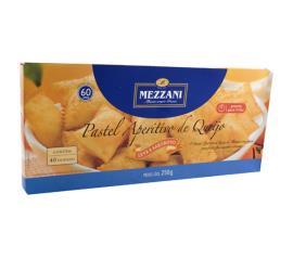 Pastel Mezzani aperitivo queijo com 40 unidades 250g