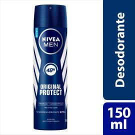 Desodorante Antitranspirante Aerossol Nivea Original Protect 150ml