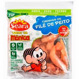Corte de Frango Seara Turma da Mônica Filé de Peito 600g