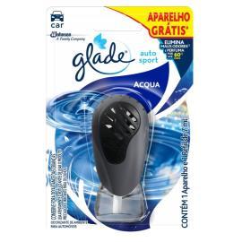 Odorizante + Aparelho gratis    acqua  auto sport  Glade    1un
