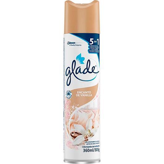 Odorizante    vanilla    Glade  aerosol  360ml - Imagem em destaque