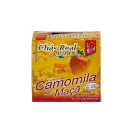 Chá Real Multiervas Camomila com maçã 10g