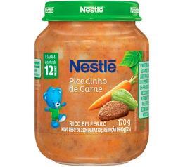 Sopinha infantil picadinho de carne Nestlé 170g