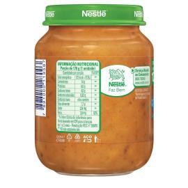 Sopinha infantil espaguetinho à bolonhesa Nestlé 170g