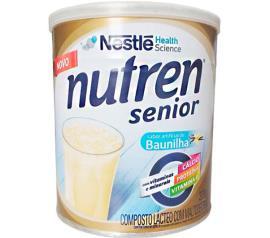 Composto lácteo baunilha Nutren senior Nestle lata 370g