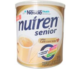 Composto lácteo café com leite Nutren senior Nestle lata 370g