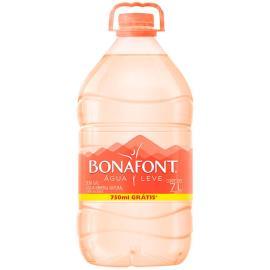 Água Mineral Bonafont Galão 7L Grátis 750ml
