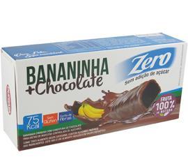 Bananada chocolate zero açúcar Duprata 75g