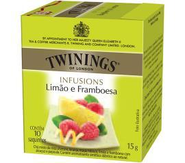 Chá limão e framboesa Twinings 15g