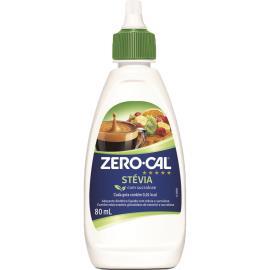 Adoçante líquido stévia Zero cal 80ml