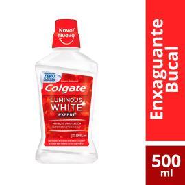 Enxaguante Bucal Colgate Luminous White Expert 500ml