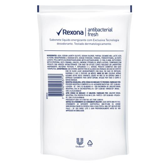 Sabonete Líquido Rexona Antibacterial Fresh Refil 200ml - Imagem em destaque
