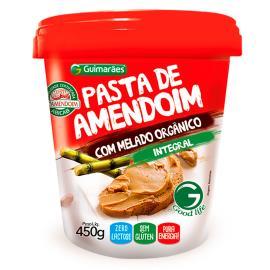 Pasta Amendoim Guimarães com Melado Integral 450 g