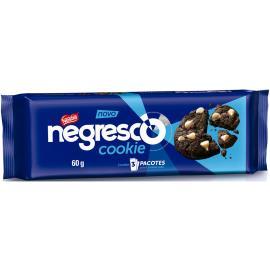Cookie de Chocolate Negresco com Gotas de Baunilha Nestlé 60g