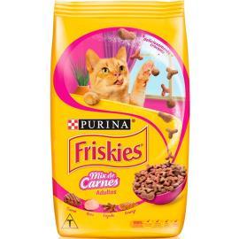 Ração para gatos Friskies mix de carnes 1kg