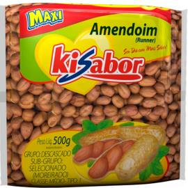 Amendoim Kisabor Runner 500g