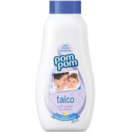Talco Pompom com Amido de Milho 200g