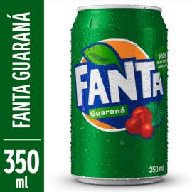 Refrigerante Fanta Guaraná Lata 350ml