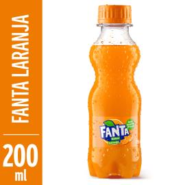 Refrigerante Fanta Laranja Pet 200ml
