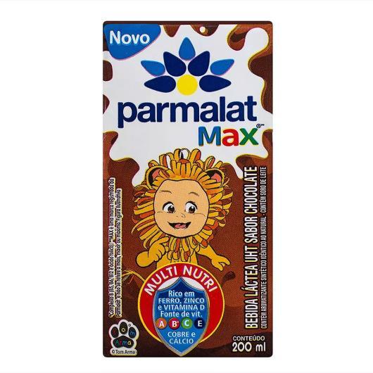 Bebida Láctea Parmalat Max Chocolate 200ml - Imagem em destaque