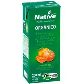 Néctar  Orgânico de Tangerina Native 200ml