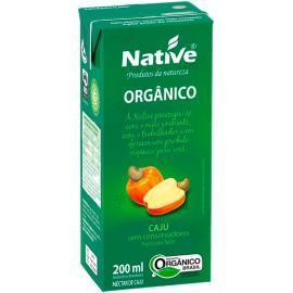 Néctar Orgânico de Caju Native 200ml