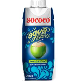 Água Coco Sococo Tetrapak 330ml