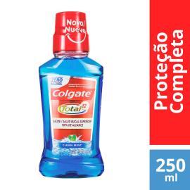 Enxaguante Bucal Colgate Total 12 Clean Mint Sem Álcool 250ml