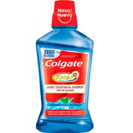 Enxaguante Bucal Colgate Total 12 Clean Mint sem álcool 500ml