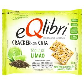Aperitivo EQLIBRI Cracker com Chia Toque de Limão 45g