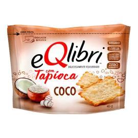 Biscoito EQlibri com Tapioca e Coco 45g