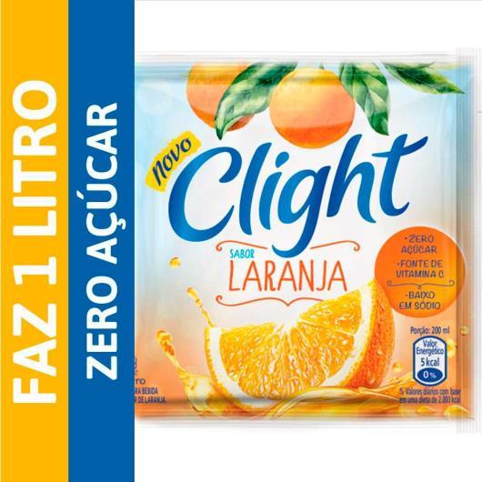Bebida em Pó Clight Laranja 8g - Imagem em destaque