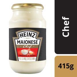 Maionese Heinz Chef Vidro 415g