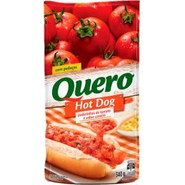 Molho de tomate hot dog Quero sachê 340g