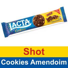 Biscoito Lacta Cookies Shot 80g