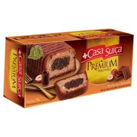 Bolo Casa Suíça Premium Avelã e Chocolate 270g