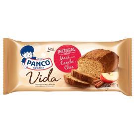 Bolo Panco Integral sabor Maçã com Canela e Chia