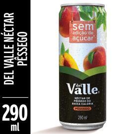 Néctar de pêssego light Del Valle lata 290ml