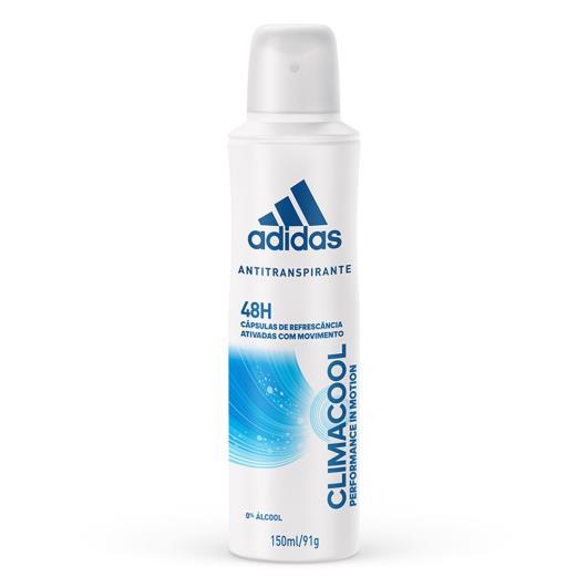 Desodorante Adidas Aerossol Feminino Climacool 150ml - Imagem em destaque