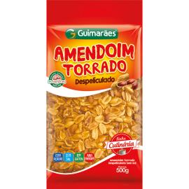 Amendoim Torrado Despeliculado Guimarães 500g