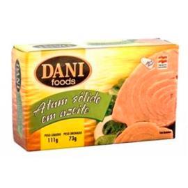 Atum sólido azeite Dani Foods 111g