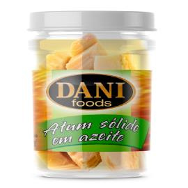 Atum sólido azeite Dani Foods vidro 111g