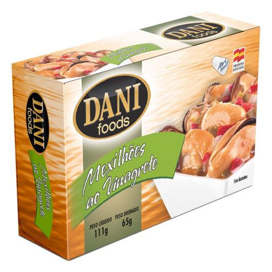 Mexilhões Dani Foods ao Vinagre 111g - Imagem em destaque