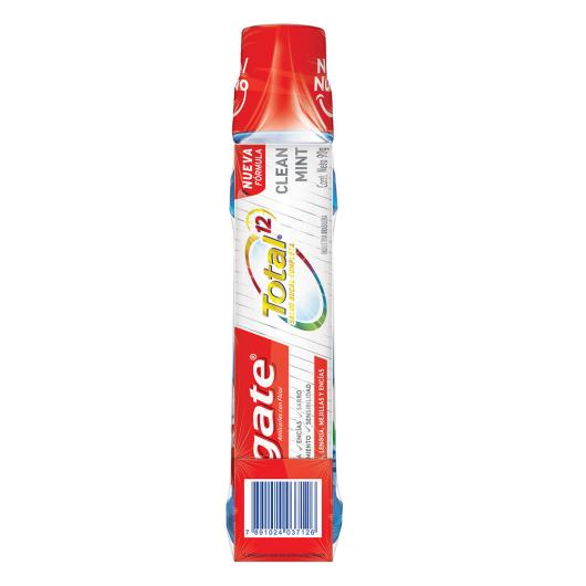 Enxaguante bucal 500ml grátis creme dental Total 12 clean mint 90g Colgate unidade - Imagem em destaque