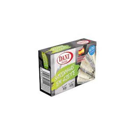 Sardinha Dani Foods Azeite 90g - Imagem em destaque