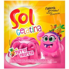 Gelatina tutti frutti Sol 25g