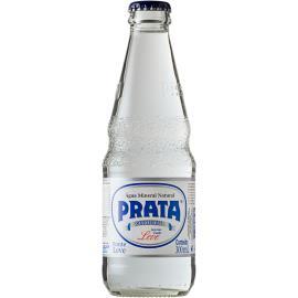 Água Mineral Prata Leve s/Gás Garrafa 300ml